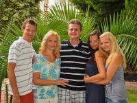 S rodinou na dovolené