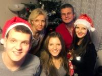 Vánoce s rodinou