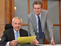 S emeritním ministrem zdravotnictví Leošem Hegerem