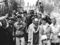 Revoluce - s Václavem Havlem a štábem prezidenta republiky