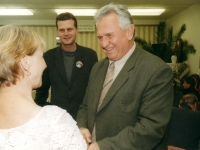 S emeritním senátorem Karlem Bartákem