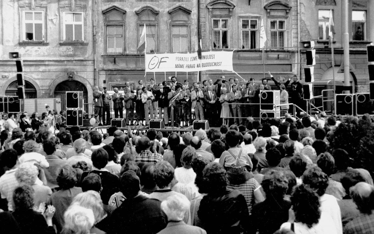 První svobodné volby v Hradci Králové